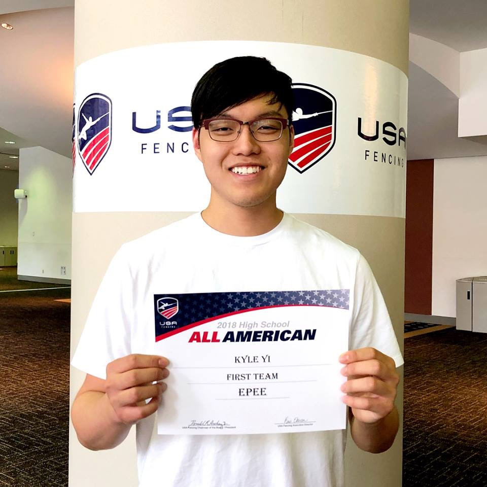 Kyle Yi Makes All American